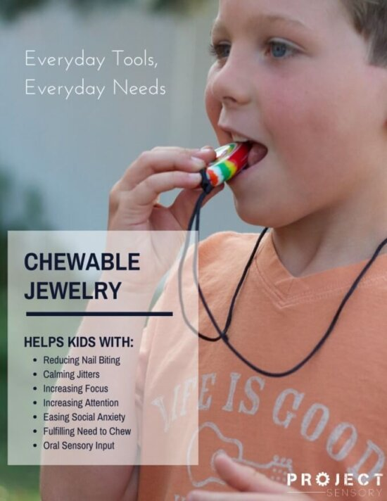 Benefits of chewable jewelry