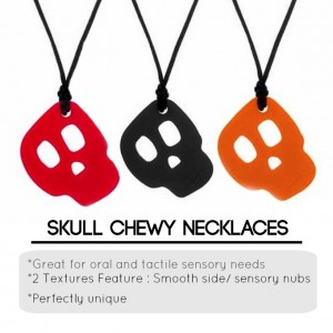 Skull Chewy Necklaes