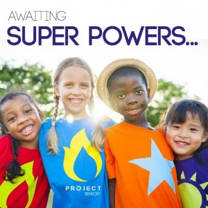 Awaiting our super powers...donate today!