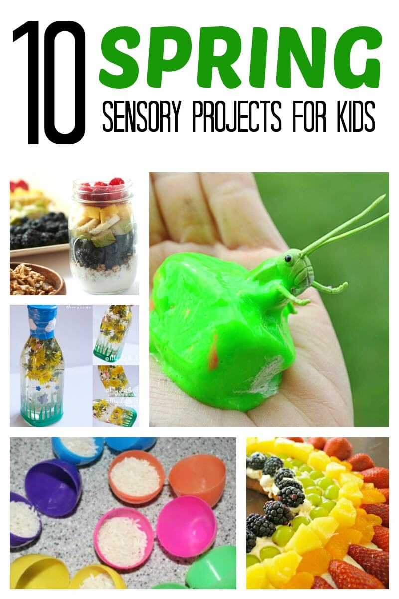 Spring Sensory Project for Kids