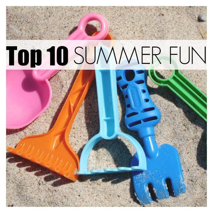 top summer fun for kids