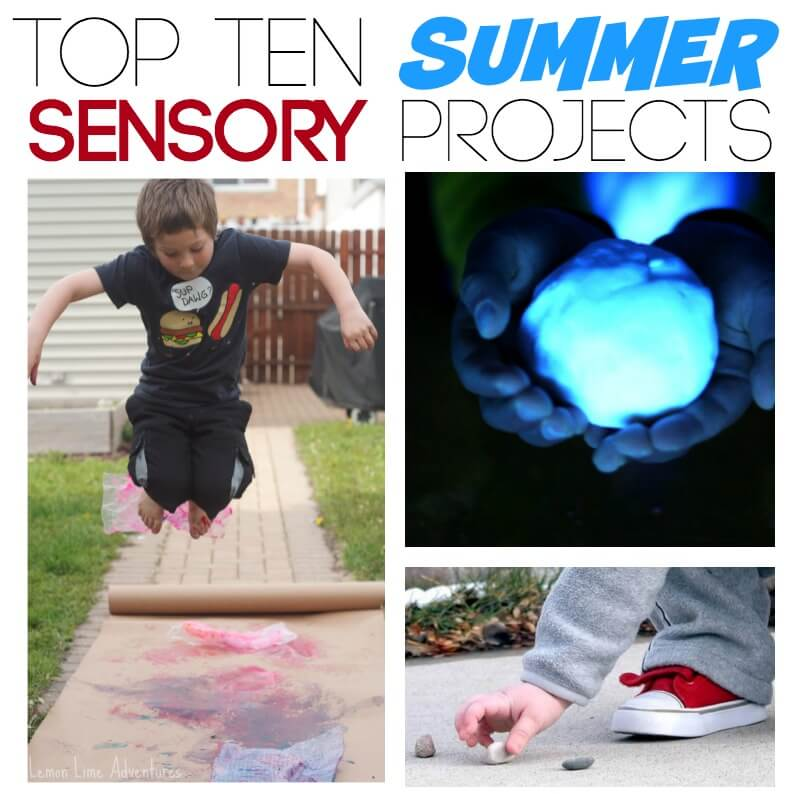 Summer Sensory Projects