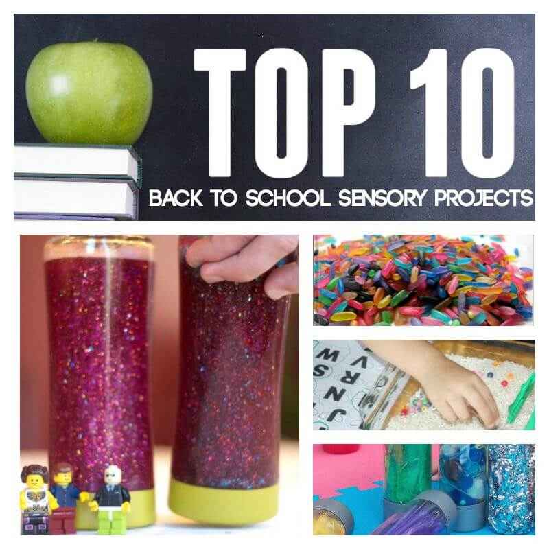 Top 10 back to school sensory projects