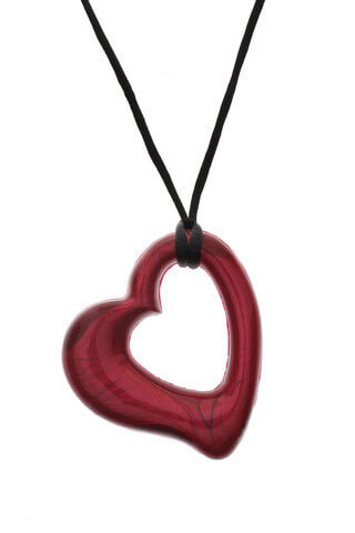 Red Heart Chewable Jewelry