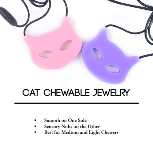 Cat Shaped Chewable Jewelry