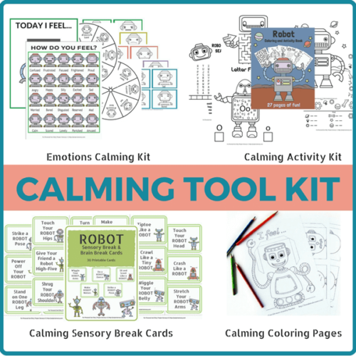 Complete Robot Emotions Toolkit
