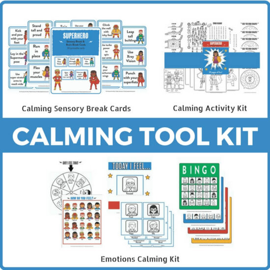 Complete Superhero Calming Toolkit Bundle!